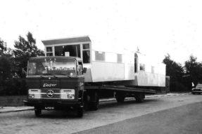 mercedes caravan trailer